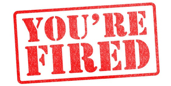 You're fired! Top Salesperson Sales Xceleration