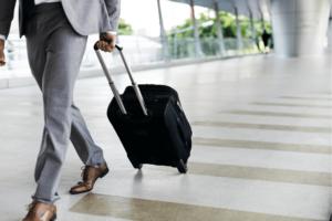 Businessman Traveling for Work